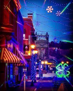 Wintertime LED Light Show