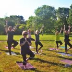 Evening Yoga in the Park