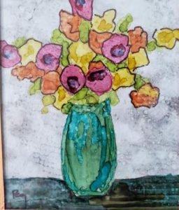 Painting with Alcohol Ink Class Aug. 7th