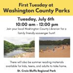 First Tuesday at Square Lake Park