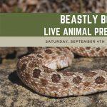 Beastly Bodies - Carpenter Nature Center