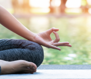 Yoga in Lowell Park