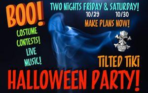 Tilted Tiki Halloween Party
