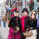 Victorian Caroling on the Corners