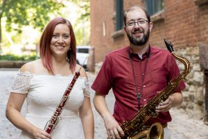 FREE Tuesday Coffee Concert featuring oboe/sax duo...